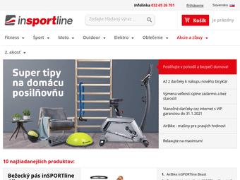 204e72c92e7d6 inSPORTline - najväčší výrobca a predajca fitness v SR Online obchod s  fitness vybavením posilňovien. Bežecké pásy, Rotopedy, Elipticaly, ...